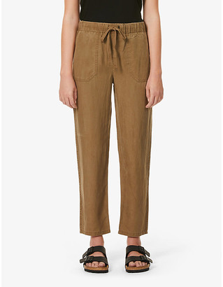 Rails Graham tapered mid-rise woven trousers