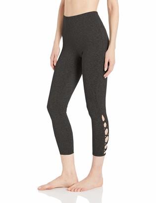 Core 10 High Waist Lattice 7/8 Crop Legging-24 Yoga Pants