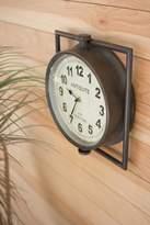 Kalalou Metal Framed Wall Clock