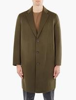 Acne Studios Olive Charles Cashmere-blend Coat