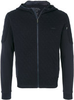 Z Zegna quilted hoodie