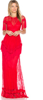 Alice McCall Lady in Red Gown
