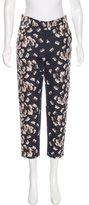 Suno Floral Print Cropped Pants w/ Tags