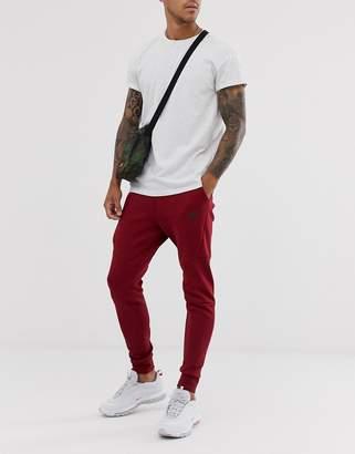 Nike Tech Fleece Jogger Burgundy-Red