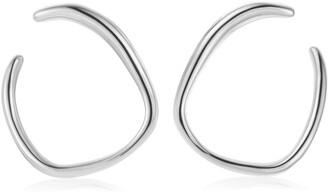 Monica Vinader Nura Reef Wrap Hoop Earrings