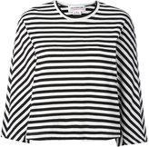 Comme des Garcons striped long-sleeve T-shirt - women - Cotton - XS