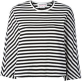 Comme des Garcons striped long-sleeve T-shirt