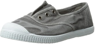 Cienta Kids Canvas Slip On Sneakers For Girls and Boys - Grey 23 EU (6.5 M US Toddler)