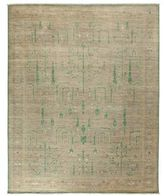 Solo Rugs Oushak Collection Trees Oriental Rug