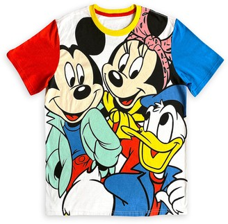 Disney Mickey Mouse and Friends Color Block T-Shirt for Adults Mickey & Co.