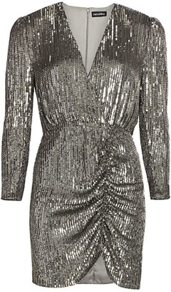 retrofete Sequin Mini Sheath Dress