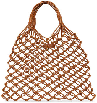 Little Liffner SSENSE Exclusive Brown Knotted Tote