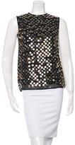 Stella McCartney Sleeveless Sequined Top