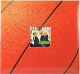 MCS MBI Sport and Hobby Postbound Album 12-Inch by 12-Inch Page , 13.2 x 12.5 Album, Basketball Theme
