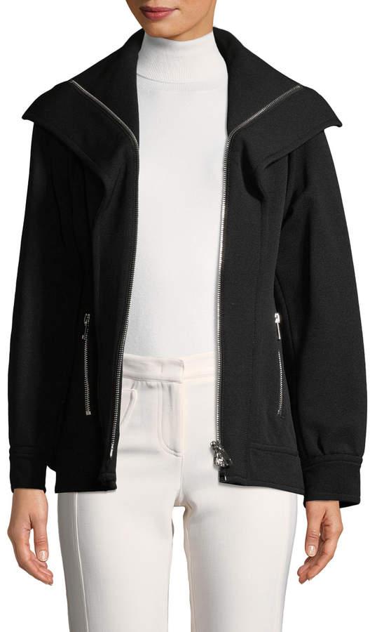 Derek Lam Women's Zip-Up Raglan Jacket