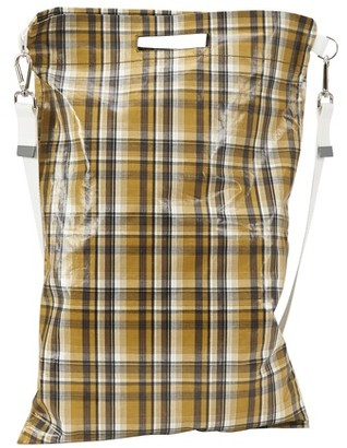 Uniforme Checked oversize bag
