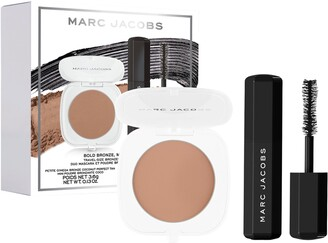 Marc Jacobs Beauty Bold Bronze, Major Mascara Travel-Size Bronzer and Mascara Duo