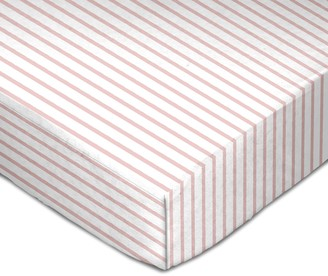 Living Textiles Cotton Muslin Fitted Crib Sheet