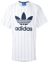 adidas Pinstripes T-shirt - men - Cotton - S