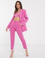 Asos Design DESIGN pop slim suit trousers in pink