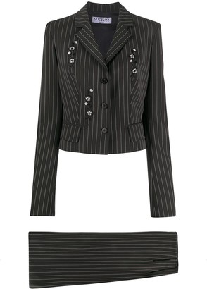 A.N.G.E.L.O. Vintage Cult 1990s Pinstriped Two-Piece Suit