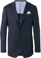 Z Zegna notched lapel check blazer - men - Cupro/Wool - 48