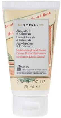 Korres Almond Oil And Calendula Moisturising Hand Cream 75Ml