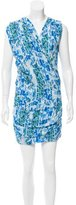 IRO Storm Abstract Print Dress