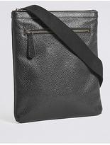 M&S Collection Pebble Grain Leather Slim Crossbody Bag