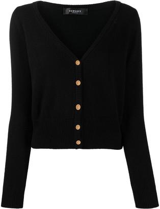 Versace V-neck cashmere cardigan