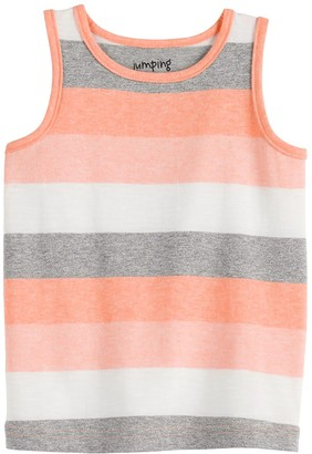 Baby Boy Jumping Beans Striped Tank Top