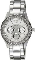 Fossil Women's ES3588 Stella Multifunction Stainless Steel Watch