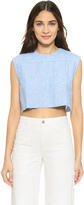Shakuhachi Boxy Stripe Crop Top