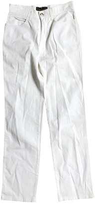 Fendi Beige Denim - Jeans Trousers for Women Vintage