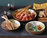 Williams-Sonoma Pomegranate Pasta Bowls, Set of 4