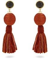 Lizzie Fortunato Modern Craft tassel earrings