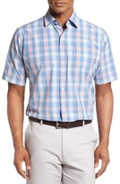 Peter Millar Men's Atlantic Plaid Regular Fit Sport Shirt
