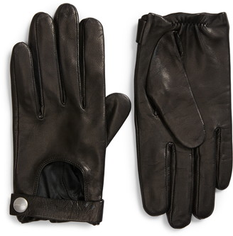 AllSaints Leather Driving Gloves