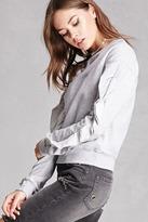 Forever 21 Ruffle-Trim Sweatshirt