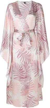 Gilda & Pearl floral embroidered night-gown