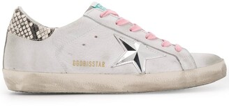 Golden Goose snakeskin effect Superstar sneakers