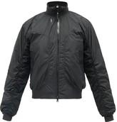 adidas by Stella McCartney Logo-print Soft-shell Bomber Jacket - Womens - Black