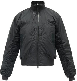 adidas by Stella McCartney Logo-print Soft-shell Bomber Jacket - Black