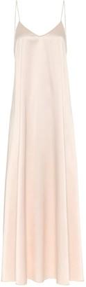 Oseree Satin maxi dress