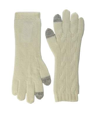 Polo Ralph Lauren Cashmere Classic Cable Touch Gloves