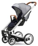 Mutsy Igo Urban Nomad Stroller in Silver/White & Blue