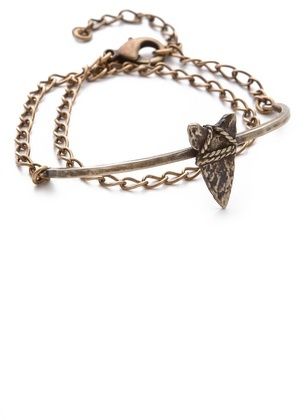 Bing Bang Brave Arrow Wrap Chain Bracelet