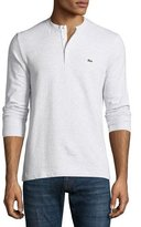 Lacoste Textured Henley T-Shirt