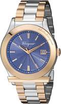 Salvatore Ferragamo Men's FF3240015 1898 Analog Display Quartz Two Tone Watch
