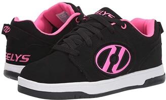 Heelys Voyager (Little Kid/Big Kid/Adult) (Black/Pink) Girls Shoes